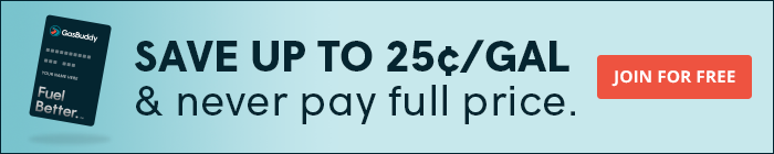 Pay With GasBuddy Banner